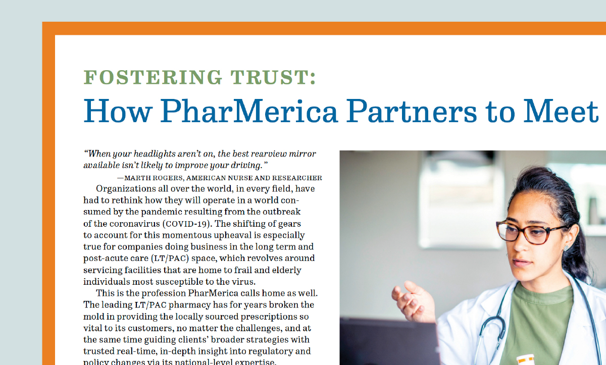 Fostering Trust: How PharMerica Partners to Meet the COVID-19 Challenge